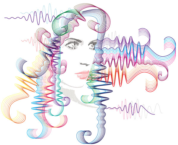What are brain waves?