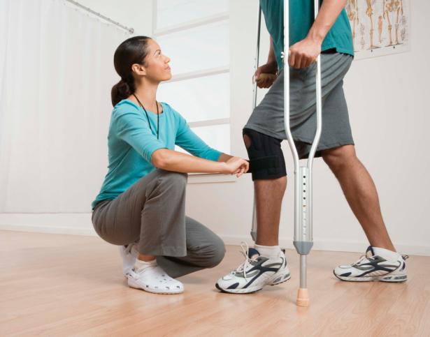 Weer sporten na een knie-operatie, hoe doe je dat?
