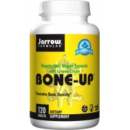 Vegan Bone-Up 120 tabletten - calcium, magnesium, vitamine C, D, MK7 | Jarrow Formulas