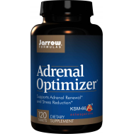 Adrenal Optimizer 120 tabs -  chamomile, shativari, ashwagandha, gotu kota, rhodiola, eleuthero, licorice root, schizandra, DMAE - supports adrenal renewal and stress reduction