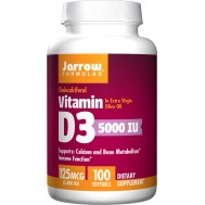 D3 - cholecalciferol 5000iu 100 softgels - 125mcg