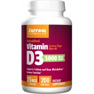 D3 - cholecalciferol 1000iu 200 softgels - 25mcg