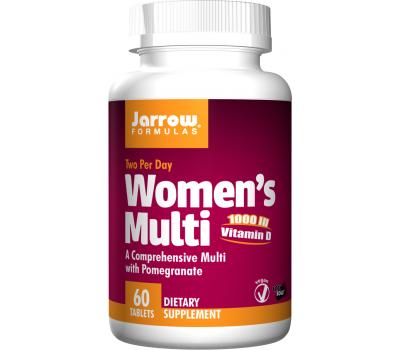 Women's Multi 60 tabs - vitamines, mineralen, anti-oxidanten en kruiden | Jarrow Formulas