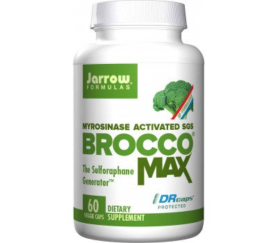 BroccoMax delayed release capsules - broccoli extract with sulforaphane glucosinolate (SGS) | Jarrow Formulas