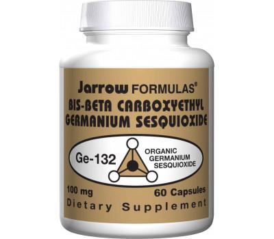 Germanium GE-132 100mg 60 capsules - organisch germanium (bis-beta carboxyethyl Germanium sesquioxide) | Jarrow Formulas
