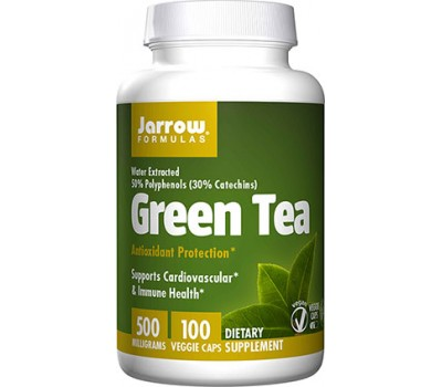 Green Tea 100 caps - groene thee met 50% polyfenolen + 30% catechines | Jarrow Formulas