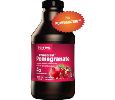 Pomegranate Juice Concentrate PomeGreat 710ml - granaatappel | Jarrow Formulas