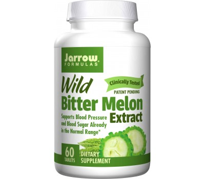 Wild Bitter Melon Extract 60 tabs from Glycostat | Jarrow Formulas