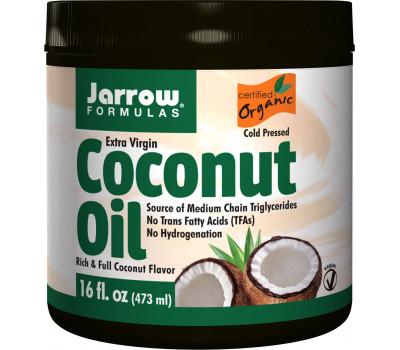 Organic Extra Virgin Coconut Oil -  extra virgin organic coconut oil | Jarrow Formulas