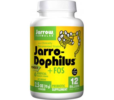 Jarro-Dophilus + inuline-FOS 12 miljard 70g probioticumpoeder | Jarrow Formulas