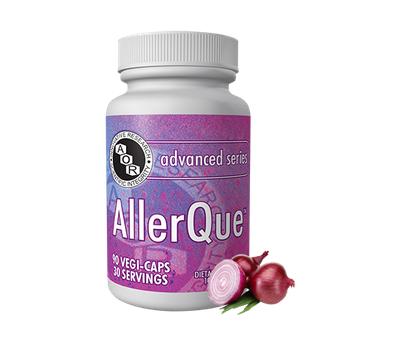 AllerQue 60 caps - hoefblad, quercetine en rozemarijn | AOR