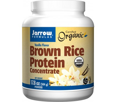 Organic Brown Rice Protein 454g ,  tasteful vegetarian alternative for soy protein