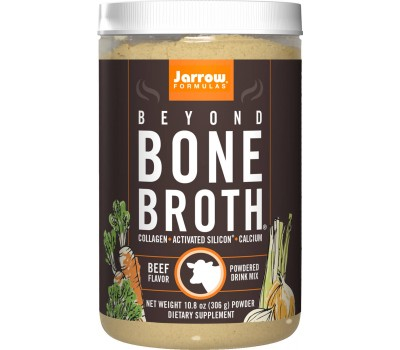 Beyond Bone Broth Beef 306g - runderbouillon met collageenpeptiden en mineralen | Jarrow Formulas