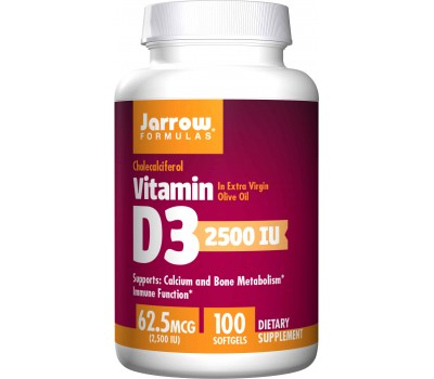 D3 - cholecalciferol 2500ie 100 softgels - 62,5mcg