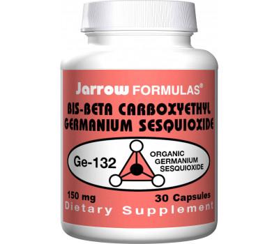 Germanium GE-132 150mg 30 capsules - organisch germanium (bis-beta carboxyethyl Germanium sesquioxide) | Jarrow Formulas