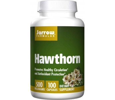 Hawthorn 5:1 concentrate 100 caps - 2% vitexin | Jarrow Formulas