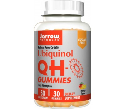 Q10 QH-Gummies 50mg - ubiquinol 30 gummies | Jarrow Formulas