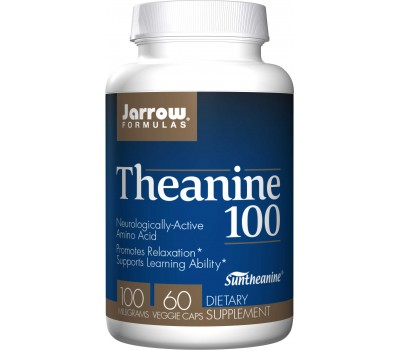 Theanine 100mg 60 capsules | Jarrow Formulas