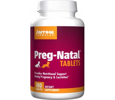 Preg-Natal 180 tabletten - zwangerschapsmulti met toegevoegde gember en lactoferrine | Jarrow Fornulas