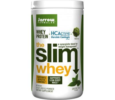 Whey - Slim Whey Green Tea 450g - synergystisch mengsel van wei-eiwit, HCActive en groene thee | Jarrow Formulas