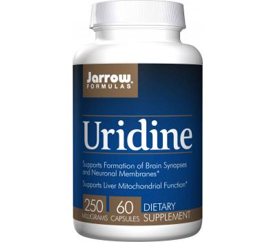 Uridine 60 capsules - nucleotide uridine 5' monofosfaat dinatriumzout | Jarrow Formulas