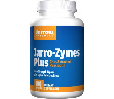 Jarro-Zymes Plus 100 capsules - lipase, protease , amylase, alfa-galactosidase | Jarrow Formulas