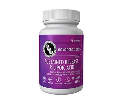Alpha Lipoic Acid (R-) SR 90 tabletten - R-alfaliponzuur vertraagde afgifte | AOR