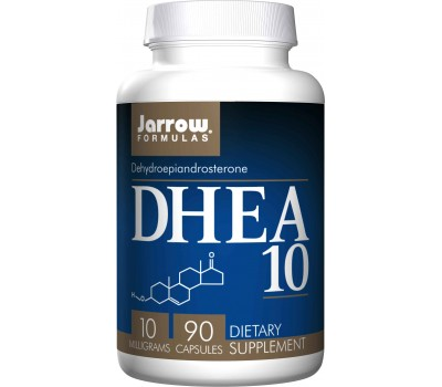 DHEA 10mg 90 capsules - dehydroepiandrosterone | Jarrow Formulas