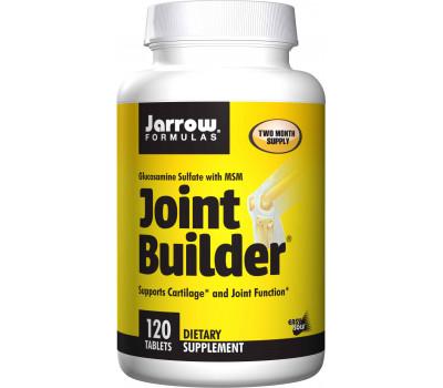 Joint Builder 120 tabs - glucosamine, MSM, mangaan, vitamine C & D3 | Jarrow Formulas