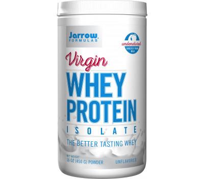 Whey - Virgin Whey Protein Isolate 450g - naturel wei-eiwitisolaat | Jarrow Formulas