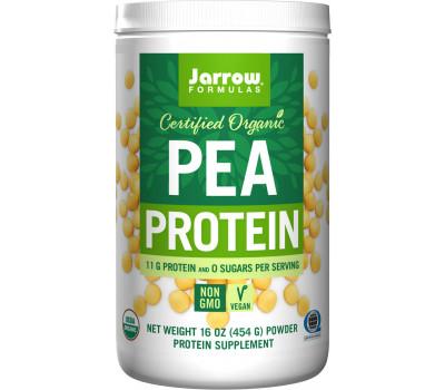 Organic Pea Protein Powder 454g - biologisch erwteneiwitpoeder  | Jarrow Formulas