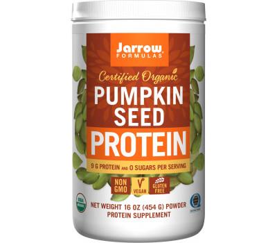 Organic Pumpkin Seed Protein Powder - biologische pompoenpiteiwitpoeder  | Jarrow Formulas