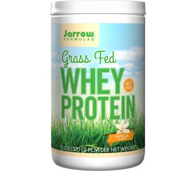 Whey - Grass Fed Whey Protein, vanilla flavoured 360g   Jarrow Formulas