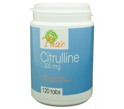Citrulline 1000mg 120 time-released tablets - Stamina | Pasio